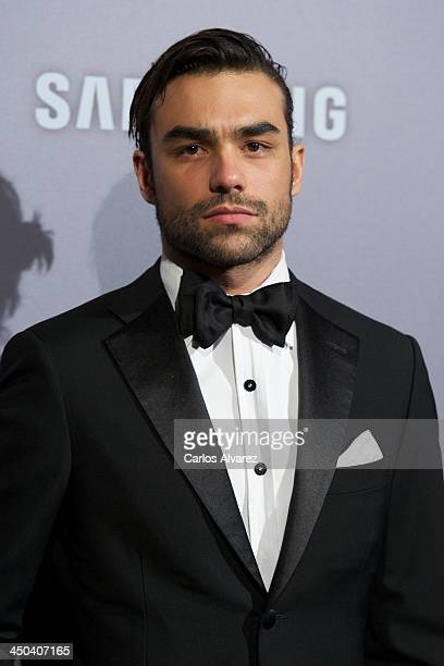 Diego Osorio attends the GQ Men Of The Year Award 2013 at the Palace Hotel on November 18 2013 in Madrid Spain