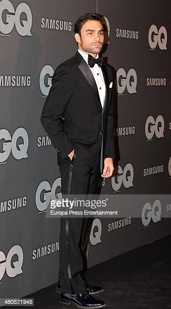 Diego Osorio attends the 'GQ Men Of The Year awards 2013' on November 18 2013 in Madrid Spain