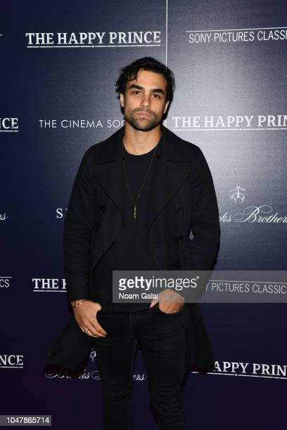 Diego Osorio attends The Happy Prince New York screening at iPic Cinema on October 8 2018 in New York City