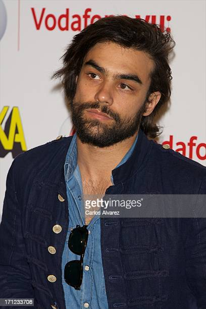 Diego Osorio attends the Mika's concert at the La Riviera Club on June 23 2013 in Madrid Spain