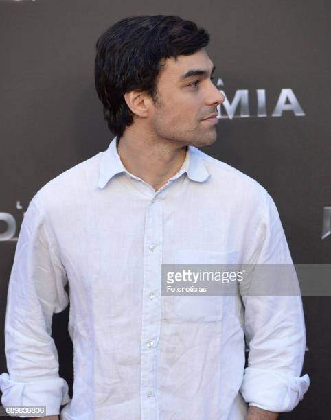 Diego Osorio attends 'The Mummy' premiere at Callao cinema on May 29 2017 in Madrid Spain