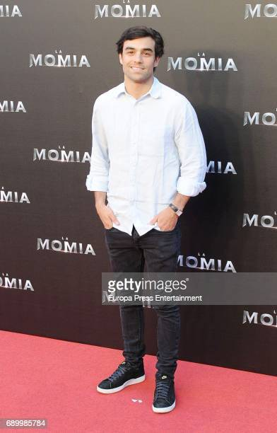 Diego Osorio attends the premiere for 'The Mummy' at Callao Cinema on May 29 2017 in Madrid Spain