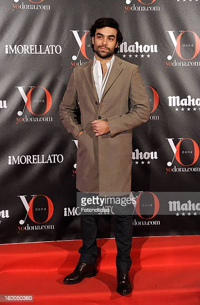 Diego Osorio attends 'Yo Dona' magazine mask party at the Casino de Madrid on February 18 2013 in Madrid Spain