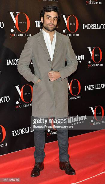 Diego Osorio attends 'Yo Dona' magazine mask party on February 18 2013 in Madrid Spain