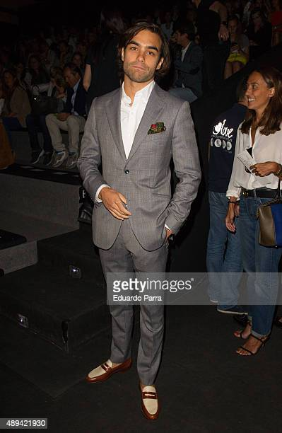 Diego Osorio is seen attending MercedesBenz Fashion Week Madrid Spring/Summer 2015/16 at Ifema on September 21 2015 in Madrid Spain