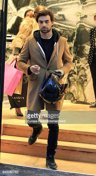 Diego Osorio is seen on January 12 2017 in Madrid Spain