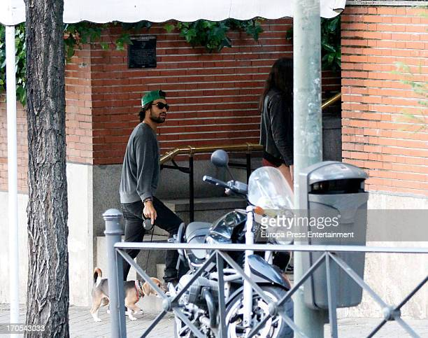 Diego Osorio is seen on June 13 2013 in Madrid Spain