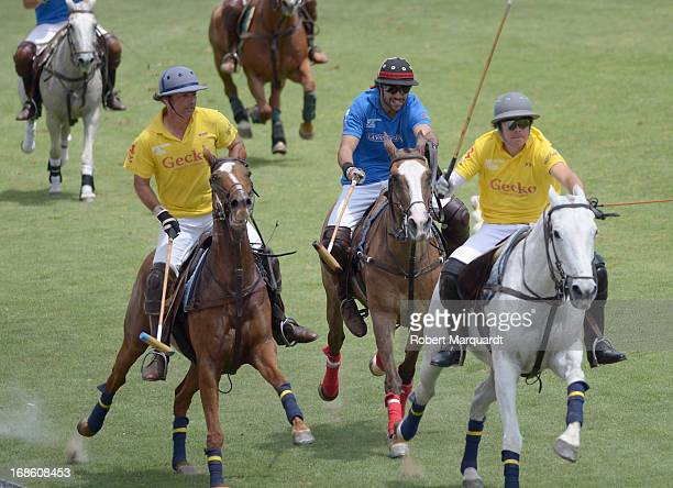 Diego Osorio participates in the Barcelona Polo Classic 2013 at the Real Club de Polo on May 10 2013 in Barcelona Spain