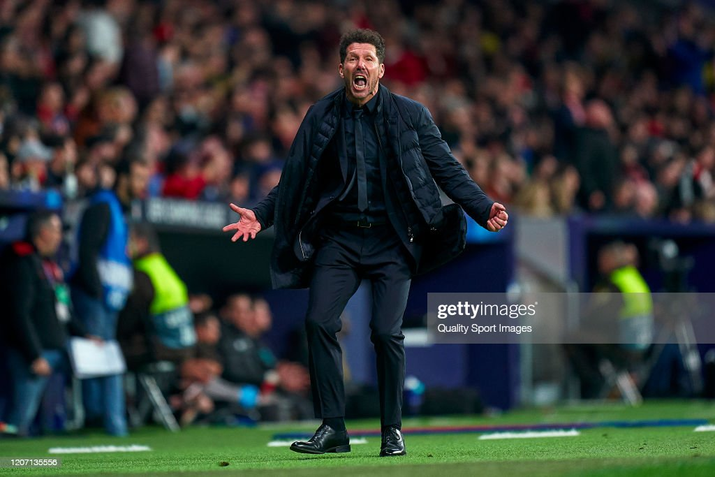Atletico Madrid v Liverpool FC - UEFA Champions League Round of 16: First Leg : News Photo