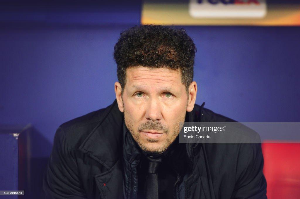 Atletico Madrid v Sporting CP - UEFA Europa League Quarter Final Leg One : News Photo