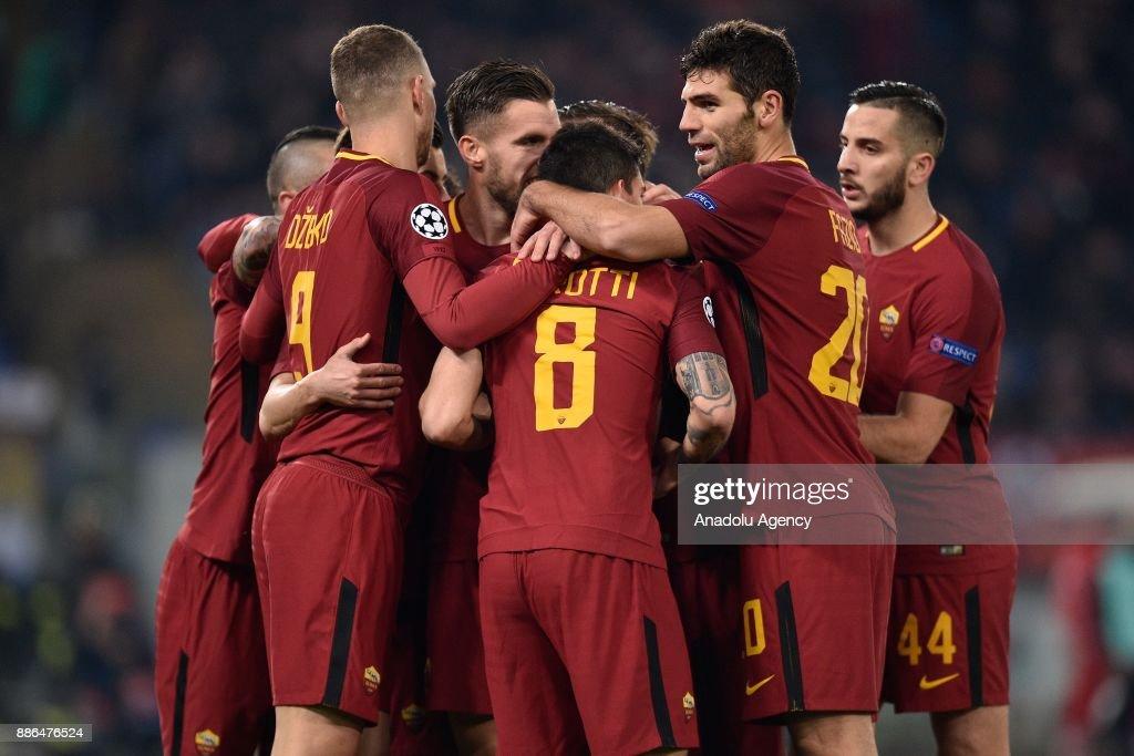 AS Roma vs Qarabag FK: UEFA Champions League : Fotografía de noticias