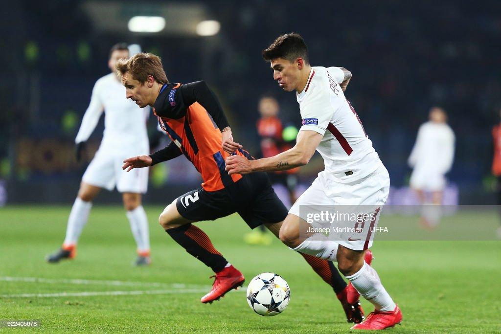 Shakhtar Donetsk v AS Roma - UEFA Champions League Round of 16: First Leg