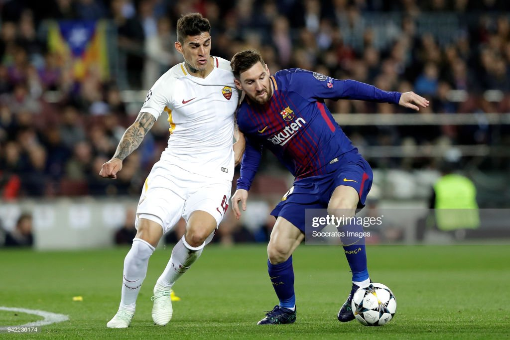 FC Barcelona v AS Roma - UEFA Champions League : ニュース写真
