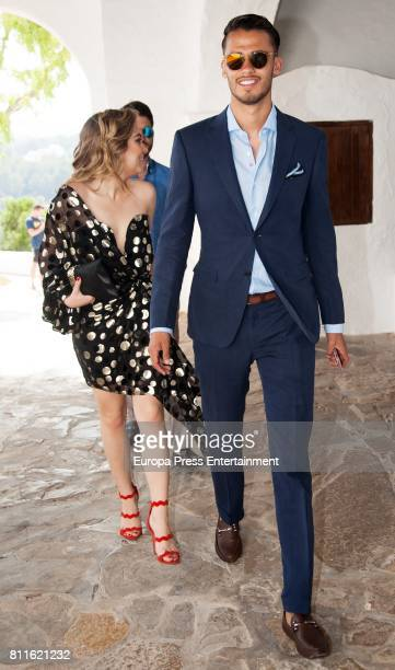 Diego Reyes attends the wedding of Guillermo Ochoa and Karla Mora on July 8, 2017 in Ibiza, Spain.