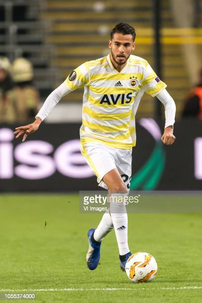 Diego Reyes of Fenerbahce SK during the UEFA Europa League group D match between RSC Anderlecht and Fenerbahce AS at Constant Vanden Stock Stadium on...