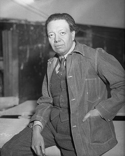 Mexican artist diego rivera pictures getty images for Diego rivera mural new york