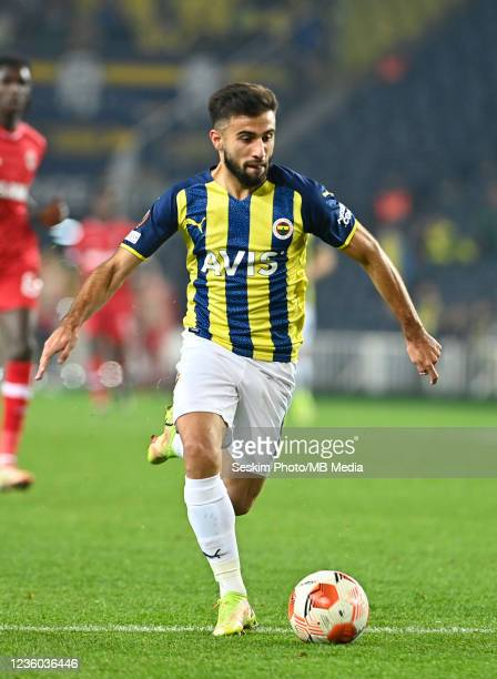 Diego Rossi of Fenerbahce during the UEFA Europa League group D match between Fenerbahce and Royal Antwerp FC at sukru Saracoglu Stadium on October...