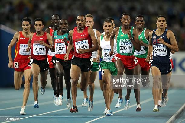 Diego Ruiz of Spain, Abdalaati Iguider of Morocco, Silas Kiplagat of Kenya, Amine Laalou of Morocco, Taoufik Makhloufi of Algeria, Mekonnen...