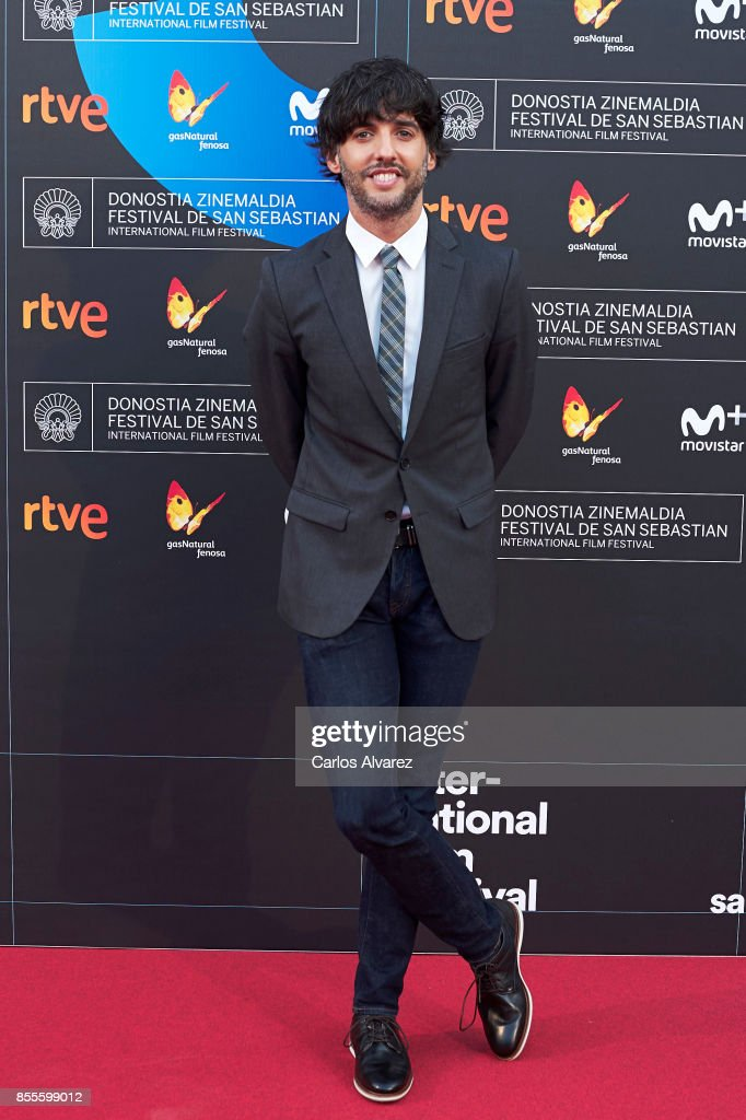 Diego San Jose on the red carpet for the premiere of the Netflix Film 'Fe De Etarras' at San Sebastian International Film Festival 2017 on September 29, 2017 in San Sebastian, Spain.