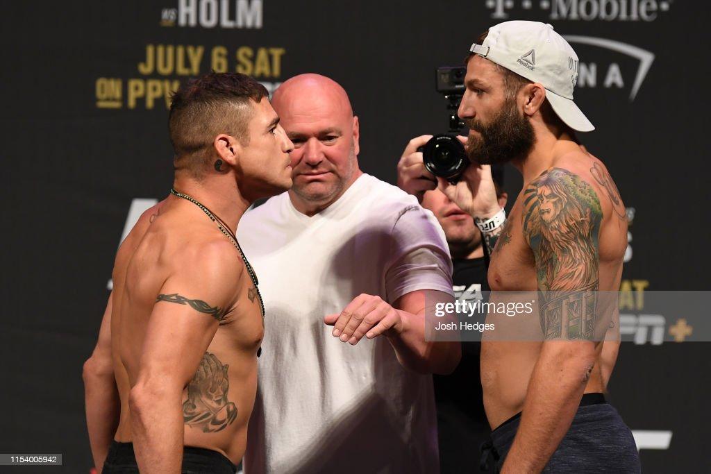 UFC 239: Weigh-ins : News Photo