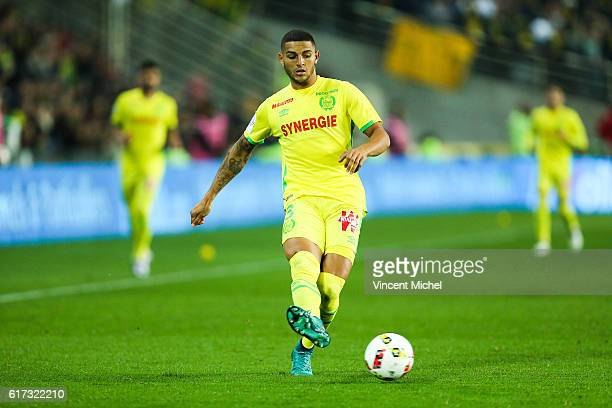 Diego Santos Silva of Nantes during the Ligue 1 match between FC Nantes and Stade Rennais at Stade de la Beaujoire on October 22 2016 in Nantes France