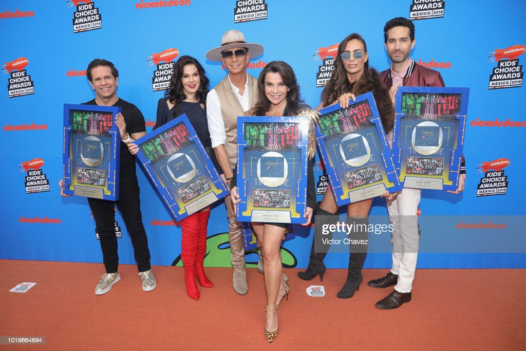 Kids Choice Awards Mexico 2018 - Orange Carpet and Show