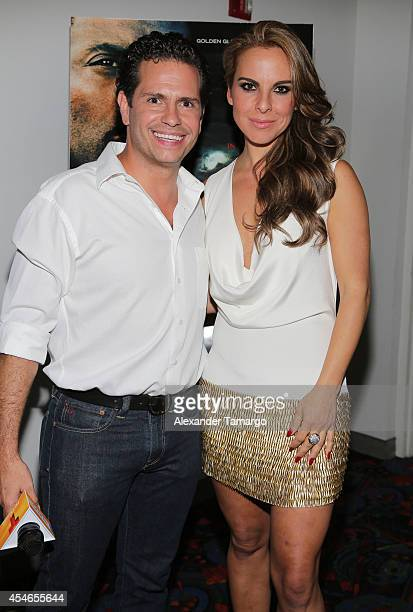 Diego Schoening and Kate del Castillo make an appearance at the 'No Good Deed' movie screening on September 4 2014 in Miami Florida