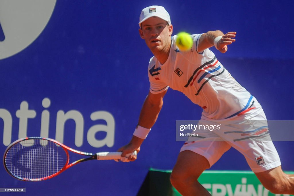 Diego Schwartzman Of Argentina Hits A Forehand Return To Marco News Photo Getty Images