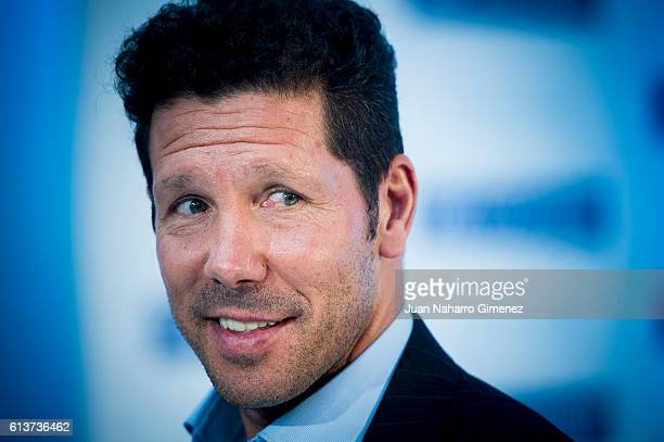 Diego Simeone attends 'Hyundai IONIQ' presentation on October 10 2016 in Madrid Spain