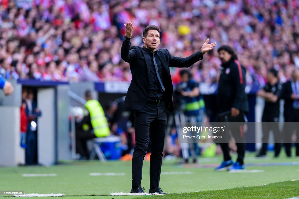 Atletico Madrid v Eibar - La Liga : News Photo
