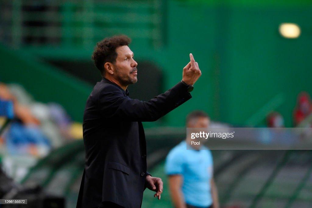 RB Leipzig v Club Atletico de Madrid - UEFA Champions League Quarter Final : News Photo