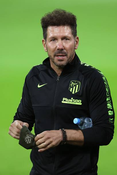 DEU: Atletico Madrid - Press Conference And Training Session