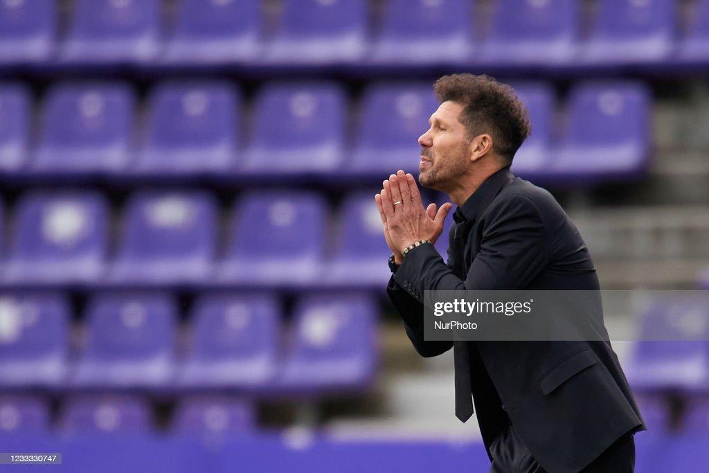 Real Valladolid CF v Atletico de Madrid - La Liga Santander : News Photo