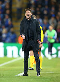 diego simeone manager atletico madrid during