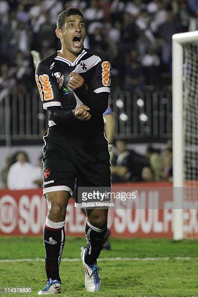 Diego Souza of Vasco reacts during a match as part of Brazil Cup 2011 at Sao Januario stadium on May 18 2011 in Rio de Janeiro Brazil