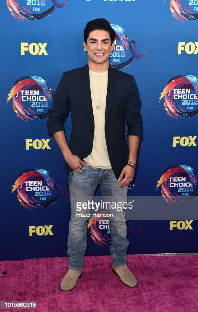 Diego Tinoco attends FOX's Teen Choice Awards at The Forum on August 12, 2018 in Inglewood, California.