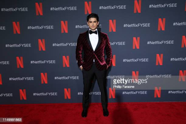 Diego Tinoco attends Netflix FYC Event: Prom Night Photo Call at Netflix FYSEE At Raleigh Studios on May 17, 2019 in Los Angeles, California.