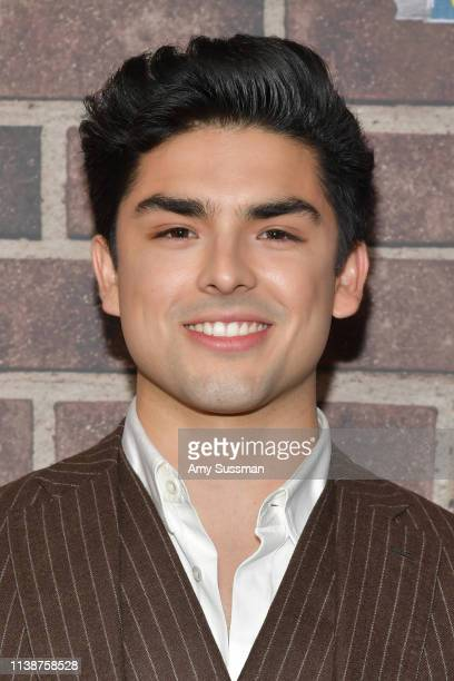 Diego Tinoco attends premiere of Netflix's On My Block Season 2 at Petty Cash Taqueria on March 27 2019 in Los Angeles California