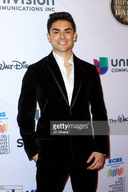 Diego Tinoco attends the 23rd Annual NHMC Impact Awards Gala at the Beverly Wilshire Four Seasons Hotel on February 28, 2020 in Beverly Hills,...