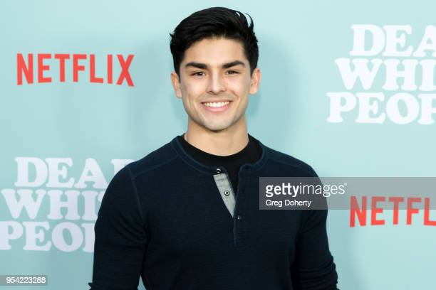 """Diego Tinoco attends the """"Dear White People"""" Season 2 Special Screening on May 2, 2018 in Hollywood, California."""