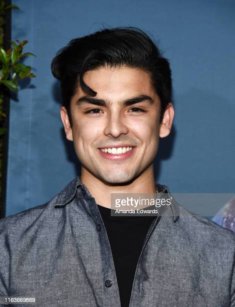 """Diego Tinoco attends the grand opening celebration of Universal Studios Hollywood's """"Jurassic World-The Ride"""" at Universal Studios Hollywood on July..."""