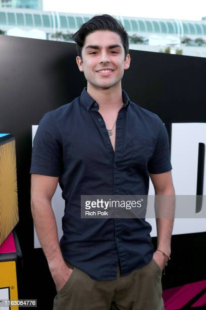 Diego Tinoco attends the #IMDboat Party presented by Soylent and Fire TV at San Diego Comic-Con 2019 at the IMDb Yacht on July 19, 2019 in San Diego,...