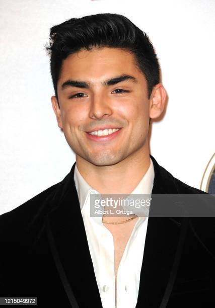 Diego Tinoco attends The National Hispanic Media Coalition's 2020 Impact Awards held at the Beverly Wilshire Four Seasons Hotel on February 28, 2020...