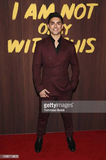 """Diego Tinoco attends the Netflix's """"I Am Not Okay With This"""" Photocall at The London West Hollywood on February 25, 2020 in West Hollywood,..."""
