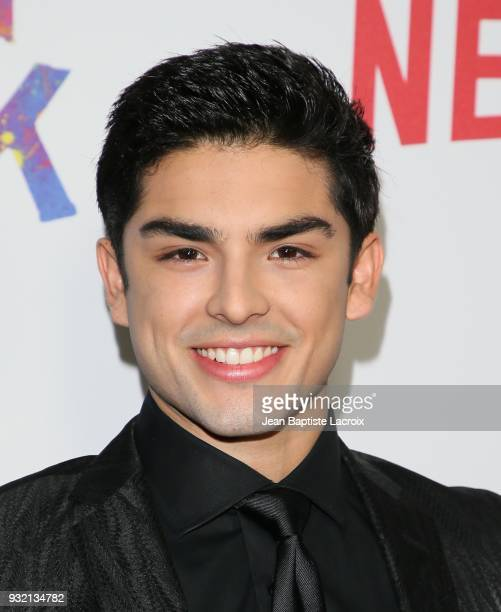 Diego Tinoco attends the premiere of Netflix's 'On My Block' on March 14, 2018 in Los Angeles, California.