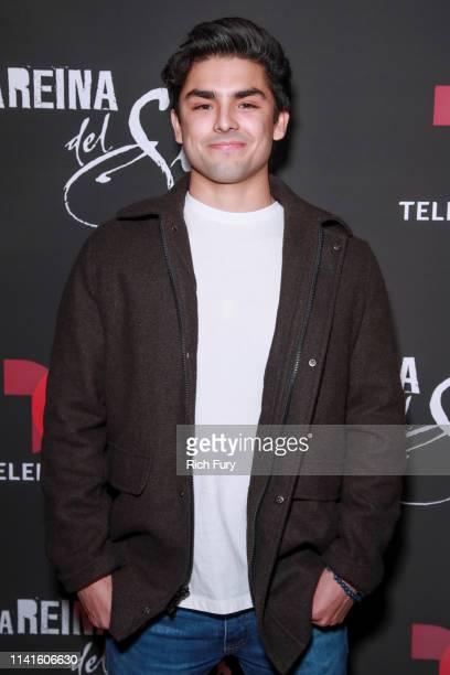 """Diego Tinoco attends the LA premiere of Telemundo's """"La Reina Del Sur"""" Season 2 at Avalon Hollywood on April 09, 2019 in Los Angeles, California."""