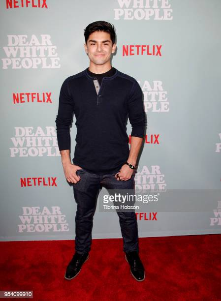 Diego Tinoco attends the screening of Netflix's 'Dear White People' season 2 at ArcLight Cinemas on May 2 2018 in Hollywood California