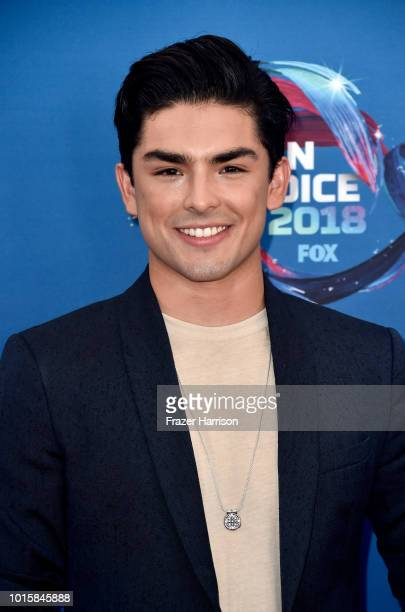 Diego Tinoco of On The Block attends FOX's Teen Choice Awards at The Forum on August 12, 2018 in Inglewood, California.