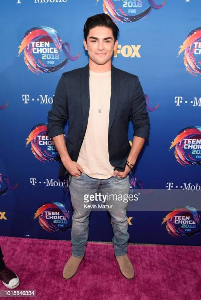 Diego Tinoco of On The Block attends FOX's Teen Choice Awards at The Forum on August 12 2018 in Inglewood California