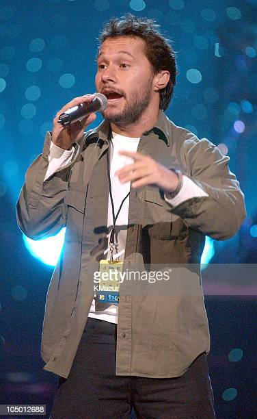 Diego Torres during MTV Video Music Awards Latinoamerica 2002 Rehearsals Day 2 at Jackie Gleason Theater in Miami Florida United States